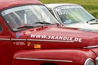 Porsche 911 T überholt Volvo PV 544 Sport