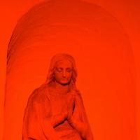 Figur an der Gastkirche