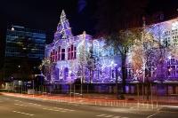Willy-Brandt-Haus und Sparkasse