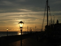 Sonnenuntergang in Urk