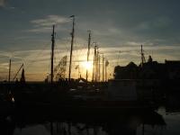 Im Hafen von Urk