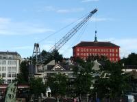 Hafenkran in Trondheim