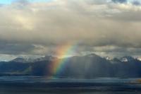 Regenbogen  über Vestvågøy