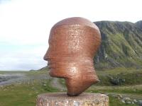 Skulptur in Eggum