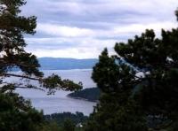 Blick auf den Oslofjord Richtung Oslo