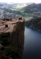Prekestolen und Lysefjord