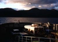 Fjordsprung mit einer der vielen Fähren