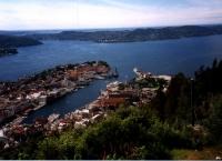 Bergen: Blick auf die Küste