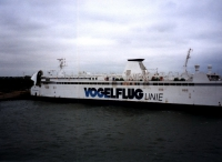 Im Fährhafen von Rodby