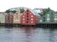 Trondheim: Speicherhäuser