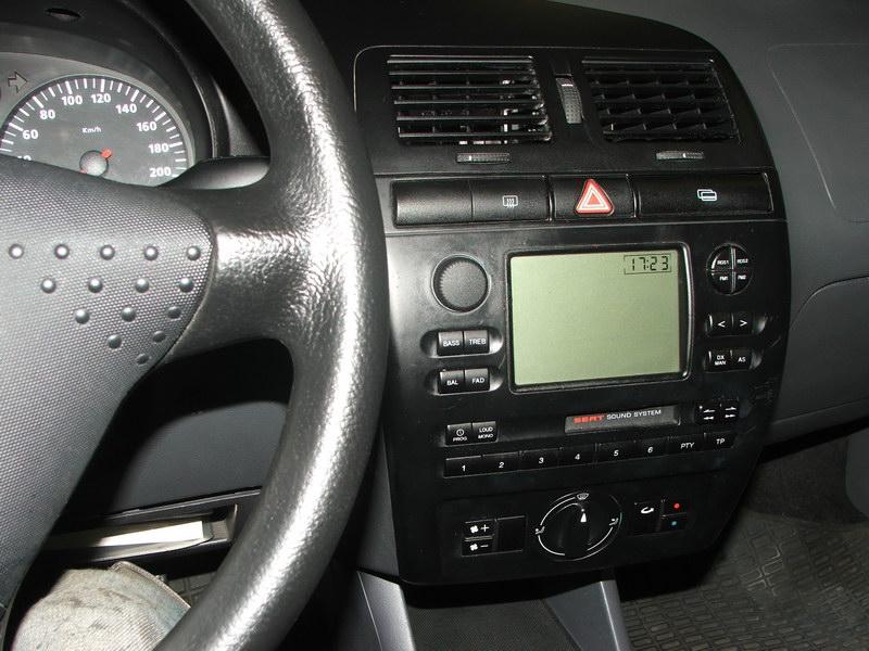 Radiokonsole seatforum community f r seat fans for Seat ibiza innenraum
