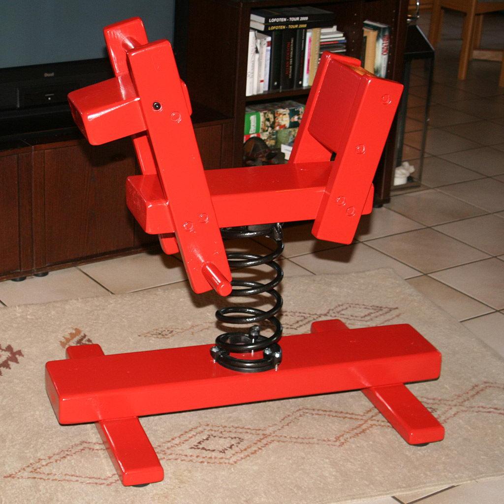 wilfried leske etwas teilen federwippe pony selbst gebaut. Black Bedroom Furniture Sets. Home Design Ideas